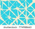 kimono geometric texture ... | Shutterstock .eps vector #774988663