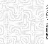 vector seamless geometric...   Shutterstock .eps vector #774992473
