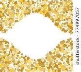 vector confetti background...   Shutterstock .eps vector #774997057