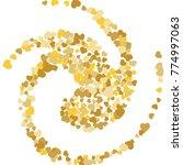 vector confetti background...   Shutterstock .eps vector #774997063