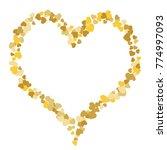 vector confetti background...   Shutterstock .eps vector #774997093