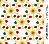 bright seamless pattern with...   Shutterstock .eps vector #774997963