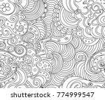 abstract vector seamless...   Shutterstock .eps vector #774999547