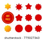 best for sale sticker  price... | Shutterstock .eps vector #775027363