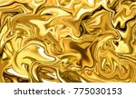 abstract gold marble texture.... | Shutterstock .eps vector #775030153