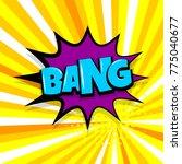 bang boom  gun comic text... | Shutterstock .eps vector #775040677