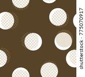 japanese pattern vector. gold... | Shutterstock .eps vector #775070917