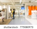 blurred group of people... | Shutterstock . vector #775080973