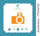 camera symbol icon | Shutterstock .eps vector #775146763