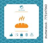 bread symbol icon | Shutterstock .eps vector #775147063