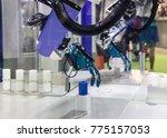industry 4.0 robot concept .the ... | Shutterstock . vector #775157053