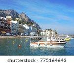 capri  naples  italy 2 april ... | Shutterstock . vector #775164643