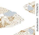 japanese pattern template... | Shutterstock .eps vector #775230673