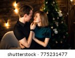 nice  young couple in love  in... | Shutterstock . vector #775231477