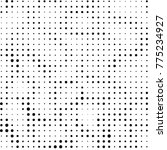 abstract grunge grid polka dot... | Shutterstock .eps vector #775234927
