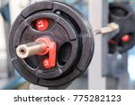 fitness wights close up | Shutterstock . vector #775282123