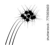 fireworks icon  explosive... | Shutterstock .eps vector #775303603
