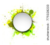banner blot presentation ...   Shutterstock .eps vector #775328233