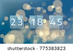 announce countdown panel design.... | Shutterstock .eps vector #775383823