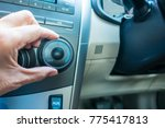 Small photo of Air condition adjustment in car