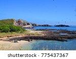 isla isabel a volcanic island... | Shutterstock . vector #775437367