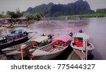 krabi  thailand   july 05 2017  ... | Shutterstock . vector #775444327