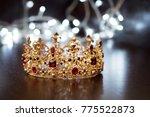 royal crown  diadem. wealth... | Shutterstock . vector #775522873