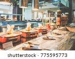 menu in all inclusive.... | Shutterstock . vector #775595773