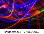 abstract pattern of blurry... | Shutterstock . vector #775603063