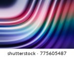 colorful ripple background | Shutterstock . vector #775605487