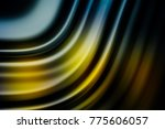 colorful ripple background | Shutterstock . vector #775606057
