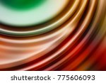 colorful ripple background | Shutterstock . vector #775606093