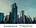 vancouver bc canada december 14 ... | Shutterstock . vector #775615723