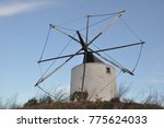 Small photo of wind mill, mill, wind power