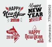 new year banner   poster ... | Shutterstock . vector #775630903