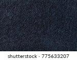 Dark Blue Nappy Knitwear Wool...