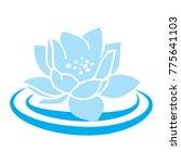 Blue Lotus Waterflower