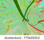abstract art texture. colorful... | Shutterstock . vector #775650313