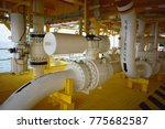 pipeline production and control ... | Shutterstock . vector #775682587