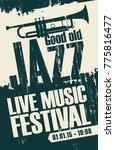 vector poster for a jazz...   Shutterstock .eps vector #775816477