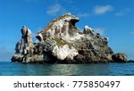 las monas off isla isabel ... | Shutterstock . vector #775850497
