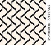 vector geometric seamless... | Shutterstock .eps vector #775897333