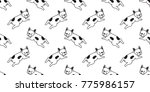 dog french bulldog puppy... | Shutterstock .eps vector #775986157