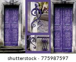 trendy color concept. set with... | Shutterstock . vector #775987597