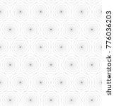 hexagons pattern vector | Shutterstock .eps vector #776036203