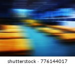 abstract motion blur background | Shutterstock . vector #776144017
