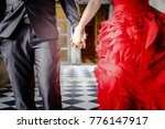 they are holding hands together....   Shutterstock . vector #776147917
