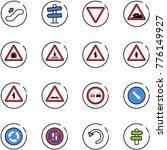 line vector icon set  ... | Shutterstock .eps vector #776149927