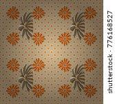 vector floral art for textile ... | Shutterstock .eps vector #776168527