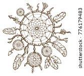 native american indian dream...   Shutterstock .eps vector #776179483